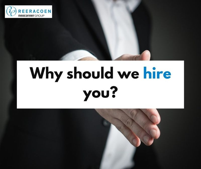 How to answer: Why should we hire you?