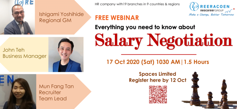 Free Webinar- Everything You Need to Know About Salary Negotiation