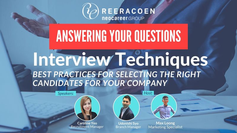 Answering your questions - Interview Techniques Webinar