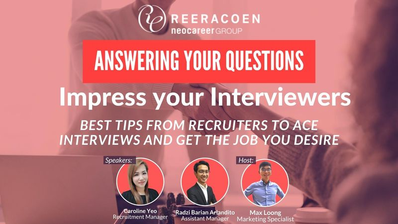 ANSWERING YOUR QUESTIONS - IMPRESS YOUR INTERVIEWERS WEBINAR
